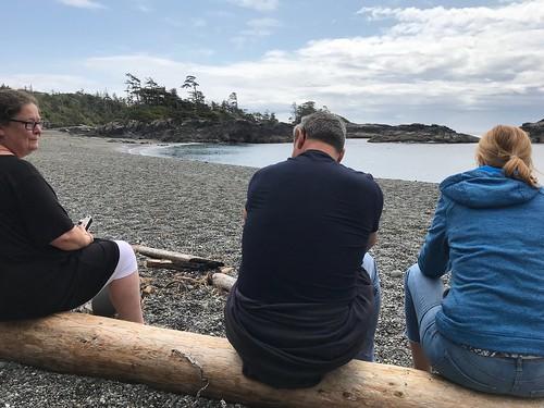 Ewa, Ula, & Marek.. visit to Vancouver Island..