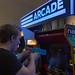 Retrolook: Videospiele mit Laserpistolen und alten Namco Arcade-Automaten