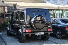Poland (Lodz) - Mercedes-AMG G 63 2016 W463 (PrincepsLS) Tags: poland polish license plate warsaw spotting el lodz mercedesamg g 63 2016 w463