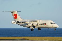 D-AMGL WDL Aviation BAe 146-200 EGNS 13/7/19 (David K- IOM Pics) Tags: iom egns isleofman isle man airport ronaldsway damgl bae british aerospace 146 146200 b462 wdl aviation ba cityflyer flyer cfe airways