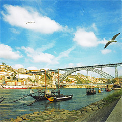 porto (thomasw.) Tags: porto portugal square europe europa expired mamiya mf 120 analog cross crossed wanderlust travel travelpics