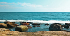 Washing Rocks (felix200SX) Tags: ocean sea rocks sunny scenery water emäsalo outside suomi finland 2019 canon 70d eos sigma24mmf14dghsmart