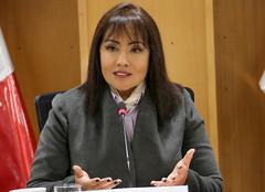 Ministra María Jara se reunió con presidenta y miembros de AFIN (MTC_Perú) Tags: ministerio aéreo aeropuerto transporte comunicaciones afin avión aeroportuario