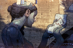 L o v e l e t t e r (Zew1920) Tags: love letter aryz mural ldz lodz łódź cinestill 50 canon ae1 analog pomorska street art