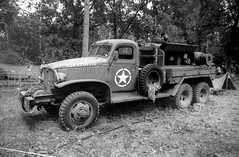 Santa Fe event - 2019 (Ronald_H) Tags: santa fe event black white film washi d miltary truck 2019 wwii overloon war museum