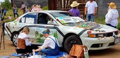 Art car (berrywine) Tags: autos