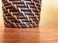 Basket (ruthlesscrab) Tags: basket weave woven werehere hereios wah