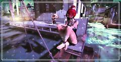 Here...fishy, fishy, fishy (яαω) Tags: secondlife mesh avatar fishing 3d