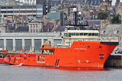 Grampian Endurance (Iain Maciver SY) Tags: aberdeen oil ship northstarshipping standbyship errv nautical northsea scotland rescue grampian
