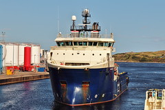 Grampian Talisman 17-08-2019 (Iain Maciver SY) Tags: aberdeen ship supplyvessel oilindustry oil psv scotland