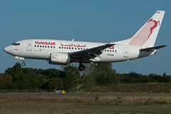 Tunis Air / B736 / TS-ION / LFRS 03 (_Wouter Cooremans) Tags: nte nantes spotting spotter avgeek aviation airplanespotting lfrs atlantique tunis air b736 tsion 03 tunisair