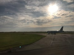 While taxiing to take off from Edmonton (Trinimusic2008 -blessings) Tags: trinimusic2008 judymeikle alberta airport airplane summer august 2019 yesterday canada edmonton aerial windowseat