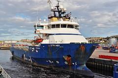 Strilmoy (Iain Maciver SY) Tags: aberdeen harbour maritime marine supplyvessel scotland port psv