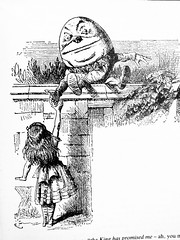 Humpty Dumpty - Alices Adventures in Wonderland 8510 (Brechtbug) Tags: humpty dumpty from pen name lewis carrolls alices adventures wonderland 1865 through lookingglass what alice found there 1871 illustration by sir john tenniel english illustrator graphic humorist political cartoonist prominent second half 19th century british humor story surreal scenes written charles lutwidge dodgson fantasy
