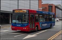 Warrington's Own Buses YJ57BPO (Mike McNiven) Tags: warringtonsownbuses networkwarrington warrington interchange widnes market blueline wright cadet commander vdlbus