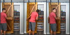 Ky's Door (Maggggie) Tags: door neighbor sliding pantry tidy home storage takeaim