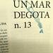 Un mar degota n. 13, estiu de 2019. Revista d'autor de Ferran Cerdans Serra.