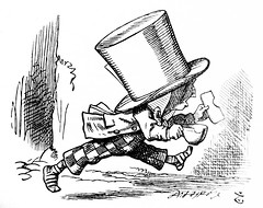 The Hatter - Alices Adventures in Wonderland 8627 (Brechtbug) Tags: the hatter from pen name lewis carrolls alices adventures wonderland 1865 through lookingglass what alice found there 1871 illustration by sir john tenniel english illustrator graphic humorist political cartoonist prominent second half 19th century british humor story surreal scenes written charles lutwidge dodgson fantasy mad