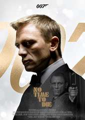James Bond 007 (nuthon) Tags: james bond 007 nuthon design movie poster fan made fun gold no time die new coming soon graphic portfolio 2020