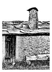 Rough living (leo.roos) Tags: gotland ljugarn vitvärsfiskeläge fishingvillage whitewaterfishing vissersdorp 18thcentury 19thcentury history past house roof door wall wood chimney noiretblanc bw deur muur dak schoorsteen a73 huis verval swedengotlandspring2019 sweden zweden sverige a7iii sonnartfe1855 sonnar5518za sel55f18z sonycarlzeissfe55mmf18zasonnart sonyfe5518 sonnar darosa leoroos
