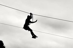 (Hugues D) Tags: silhouette candid canpubphoto blackandwhite graphic minimalism