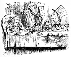 March Hare - The Dormouse - The Hatter - Alices Adventures in Wonderland 8478 (Brechtbug) Tags: march hare the dormouse hatter from pen name lewis carrolls alices adventures wonderland 1865 through lookingglass what alice found there 1871 illustration by sir john tenniel english illustrator graphic humorist political cartoonist prominent second half 19th century british humor story surreal scenes written charles lutwidge dodgson fantasy mad