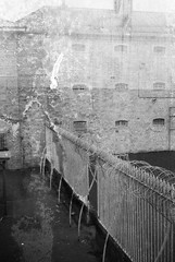 Smena 1 (camera_holic) Tags: smena gomz mmz russian soviet camera viewfinder ilford hp5 plus black white film 35mm expired 2007 shapton mallet prison somerset jail penitentiary
