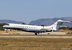 FTC Aviation SRL Global 6000 T7-AVD (birrlad) Tags: palma pmi international airport spain bizjet private passenger jet aircraft airplane airplanes aviation t7avd bombardier bd7001a10 global 6000 glex ftc srl