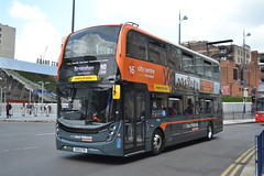 National Express West Midlands 7504 SK19ETR (Will Swain) Tags: birmingham 15th july 2019 west midland midlands city centre bus buses transport transportation travel uk britain vehicle vehicles county country england english nxwm nx national express 7504 sk19etr