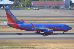 N258WN (LAXSPOTTER97) Tags: southwest airlines boeing 737 737700 n258wn cn 32516 ln 2076 airport airplane aviation pdx