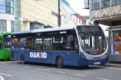 Rotala Diamond 30167 GN14LPL (Will Swain) Tags: birmingham 15th july 2019 west midland midlands city centre bus buses transport transportation travel uk britain vehicle vehicles county country england english