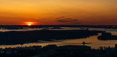 Iltamaisema Pohjois-Kallavedelle (VisitLakeland) Tags: finland kuopio kuopiotahko lakeland puijo puijonaturepark puijontorni auringonlasku evening ilta järvi lake luonto maisema nature outdoor puijotower scenery sunset