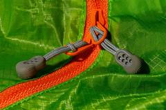 Closed (benno.dierauer) Tags: orange green grün reissverschluss zipper closed tabletop macrounlimited macro makro canoneosr tamronsp90mmf28dimacro11vcusd