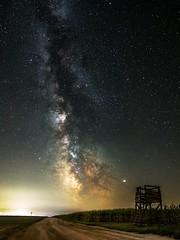 Outpost (BalintL) Tags: milkyway milky way longexposure night dark sky stars rural landscape dust outpost corn outdoor core panorama stargazing nature skyscape milc fujifilm xt20 16mm f14 wideopen