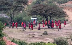 Massai meeting - mkutano wa massai (cradenborg) Tags: c cceradenborg 2019 kenia kenya masaimaranp massai mensen openbaar public safari