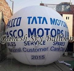 Tata Motors Sky Balloons  Tata Motors Advertising Sky Balloons offered by Ganesh Sky Balloon Delhi, India. #Tata #motors #sky #balloons. Ganesh Sky Balloon is largest manufacturer of Advertising Sky Balloons in Delhi. We manufacture sky Balloons for many (Ganesh Sky Balloons) Tags: sky balloons motors tata
