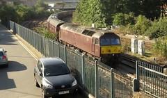 47802 Stewarts Lane Junction, Battersea (localet63) Tags: westcoastrailways class47 47802 stewartslanejunction battersea railtour dorsetcoastexpress 1z82