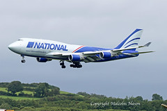 B747-428BCF N952CA NATIONAL (shanairpic) Tags: jetairliner cargo freighter b747 boeing747 jumbojet shannon national n952ca