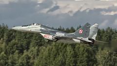 MiG-29G (kamil_olszowy) Tags: mig29g 4122 fulcrum fighter polish air force epmi mirosławiec jet siły powietrzne rp истребитель миг29г издиэлэ 912а ввс польши