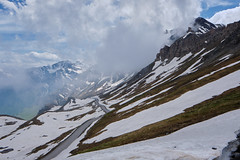 Colle dell'Agnello (RIch-ART In PIXELS) Tags: france colledellagnello colagnel landscape cloud sky slopes mountainpass col paysage snow neige ice rue road fujifilmxt20 xt20 italie mountain mountainside