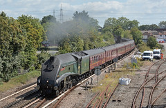 Dorset Coast Express (ianmartian) Tags: lner a4 60009 steam dorset totton victoria weymouth railway touring special