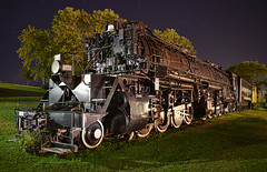 Under the Stars (Jacob Narup) Tags: duluth duluthminnesota duluthmn minnesota night nightexposure dmir dmir225 duluthmissabeandironrange proctor proctorminnesota proctormn steam steamengine steamlocomotive steamtrain train trains railfan railfanning railroad yellowstone