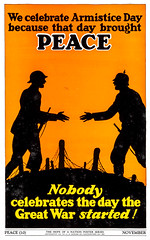 """Peace"" - The Hope of a Nation Poster Series, Works Progress Administration, 1937 (gameraboy) Tags: thehopeofanation poster worksprogressadministration 1937 wpa 1930s design art illustration propaganda posterart peace armisticeday wwi worldwari"