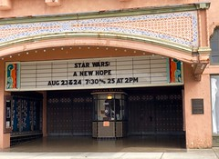 IMG_4864 (W) (CIAphotos) Tags: iphonography 7thsttheatre starwars marque theatre theater hoquiam