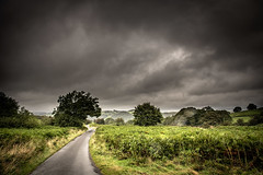 22nd August 2019 (Rob Sutherland) Tags: lowick common crake valley wet rain sky dark storm summer august lakes lakedistrict lakeland south cumbria cumbrian fell bracken green track road lane upland hill uk england english britain british