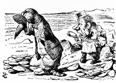 The Walrus And The Carpenter - Alices Adventures in Wonderland 8547 (Brechtbug) Tags: the walrus carpenter from pen name lewis carrolls alices adventures wonderland 1865 through lookingglass what alice found there 1871 illustration by sir john tenniel english illustrator graphic humorist political cartoonist prominent second half 19th century british humor story surreal scenes written charles lutwidge dodgson fantasy mad