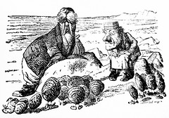 The Walrus And The Carpenter - Alices Adventures in Wonderland 8540 (Brechtbug) Tags: the walrus carpenter from pen name lewis carrolls alices adventures wonderland 1865 through lookingglass what alice found there 1871 illustration by sir john tenniel english illustrator graphic humorist political cartoonist prominent second half 19th century british humor story surreal scenes written charles lutwidge dodgson fantasy mad