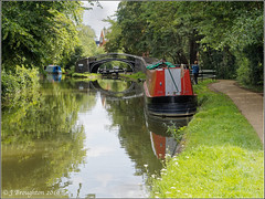 Canal Views 2019_6 (johnzsv) Tags: oxfordshire oxford olympus em10 canal oxfordcanal boats narrowboat water landscape lock isis isislock