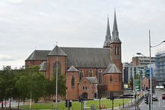 St Chad's From Snow Hill Station, Birmingham 25/05/2019 (Gary S. Crutchley) Tags: birmingham city centre uk great britain england united kingdom urban cityscape west midlands westmidlands nikon d800 livery street and fazeley inland waterway canal navigation cut bcn narrowboat lock walsall junction wyrley essington canalscape scape travel st chas chads cathedral bt tower service tunnel streets