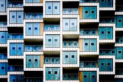 Living In A Box (Sean Batten) Tags: london england unitedkingdom woodwharf docklands eastlondon canarywharf abstract architecture city urban nikon d800 70200 lines windows
